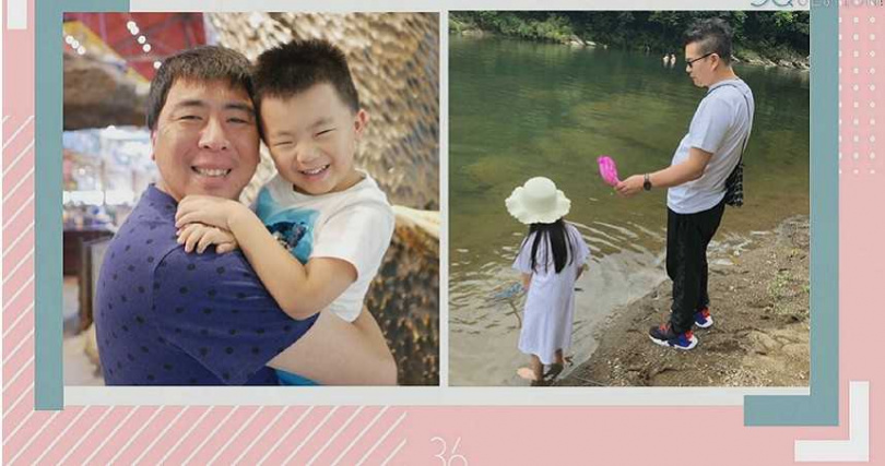 沈玉琳、梁赫群分享私下與孩子相處模式。(圖/公視提供)