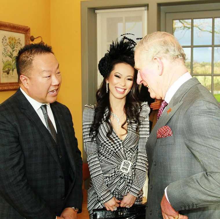 克莉絲汀長年支持英國查爾斯王儲的基金會。(圖/翻攝自christine_chiu88 IG)