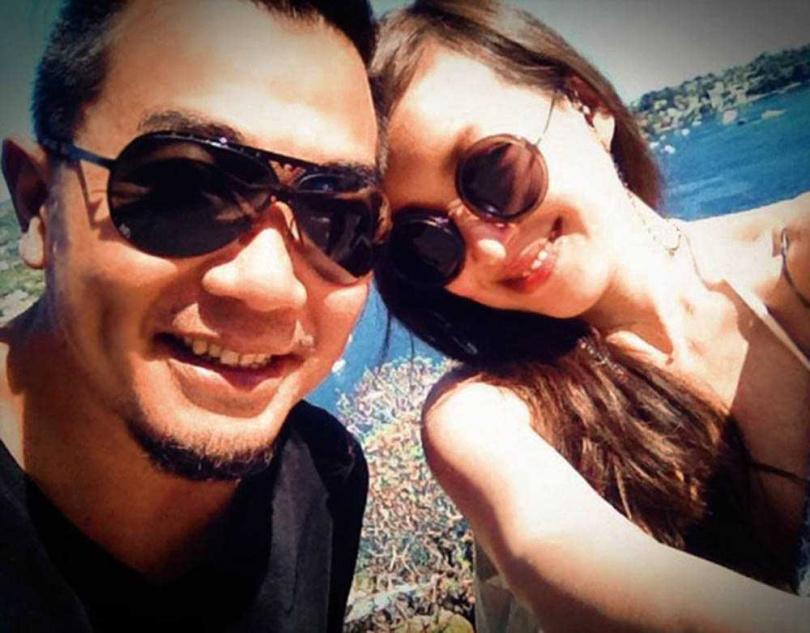 路嘉怡與電視節目製作人老公湯宗霖結婚8年,感情一直非常好。(圖/翻攝自路嘉怡臉書)