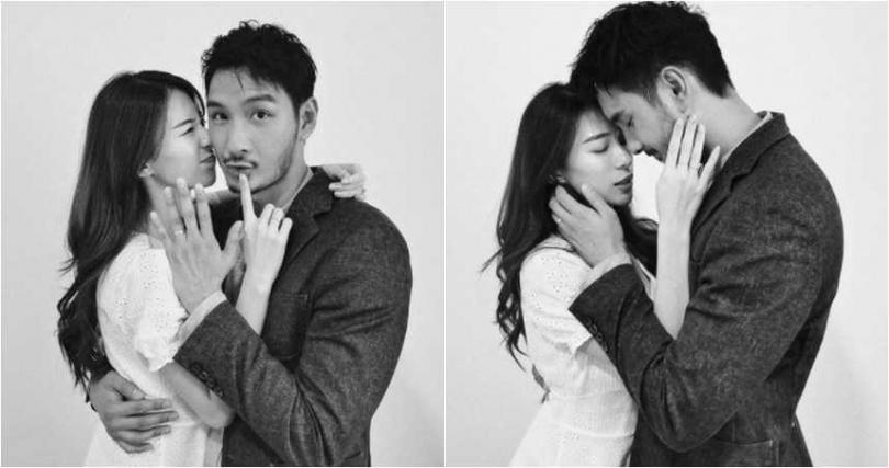 馬來西亞男星呂銳與交往約一年的女友結婚,甜蜜宣布喜訊。(圖/翻攝呂銳IG )