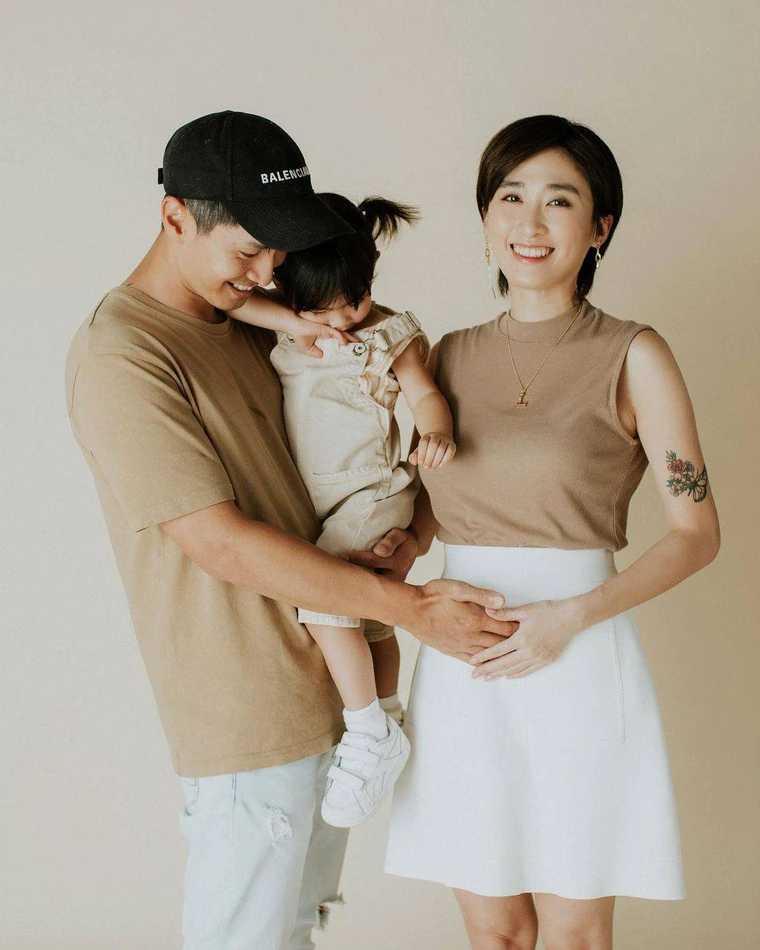 符曉薇懷胎10周,寶寶被診斷罹患「愛德華氏症」。(圖/翻攝自leannefu_1027 IG)