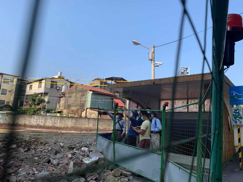 黃春香不滿住家被3度強拆。(圖/翻攝自台南文化守護行動聯盟臉書)