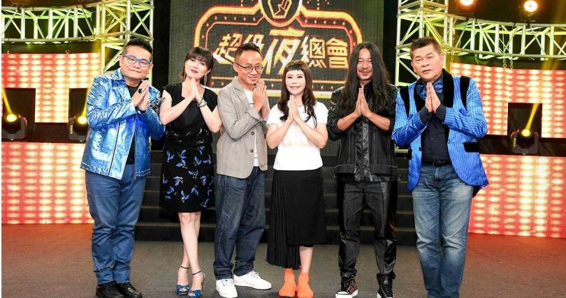 詹雅雯日前錄影三立台灣台《超級夜總會》。(圖/三立提供)