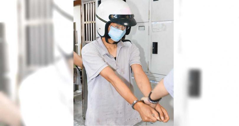 賴亞生前年5月刺死妹妹工作處的牙醫師王冠中並刺傷2名護理師,被當場逮捕。(圖/報系資料照)