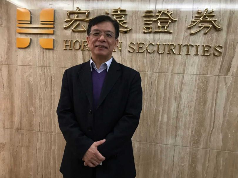 宏遠投顧投資研究處、副總經理陳國清。(圖/李蕙璇攝)