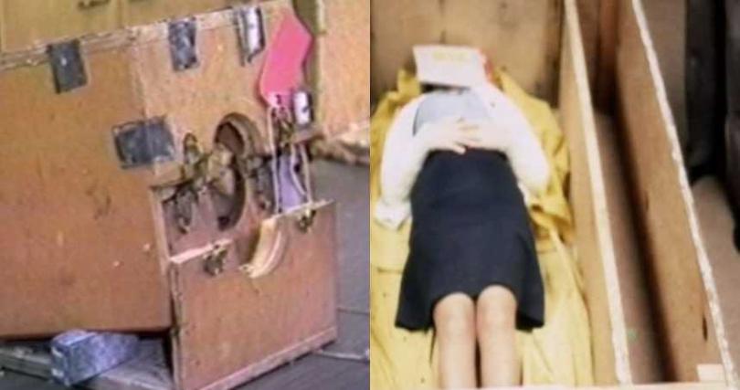 科琳被關在特製木箱長達7年。