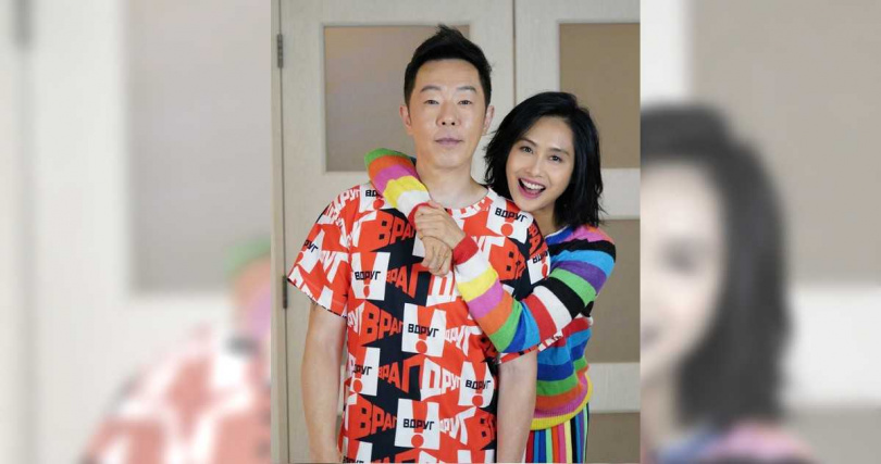 Zhu Yin married Huang Guanzhong in 2012 and gave birth to a daughter.  (Picture/Flip from Weibo)