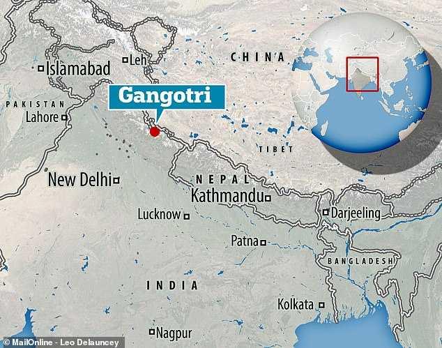 恆河全長約 2510 公里,卻受到沿岸城市的工業排放水污染。(圖/Daily Mail)