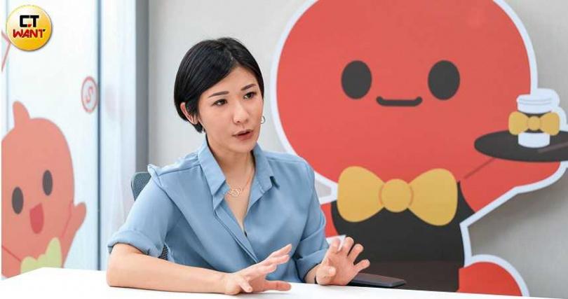 淘寶台灣市場溝通總監柯中甯表示,很可惜這次淘寶台灣沒有在經濟部審核通過的名單中,希望下一波還有機會。(圖/馬景平攝)