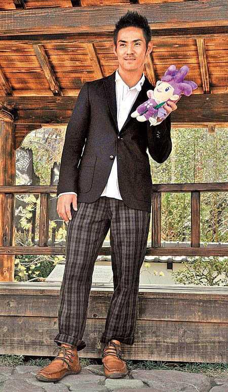 外傳《海角七號》音樂劇,將邀請AKIRA演出,中孝介在電影版中飾演的日籍教師一角。(圖/中國時報劉宗龍攝)