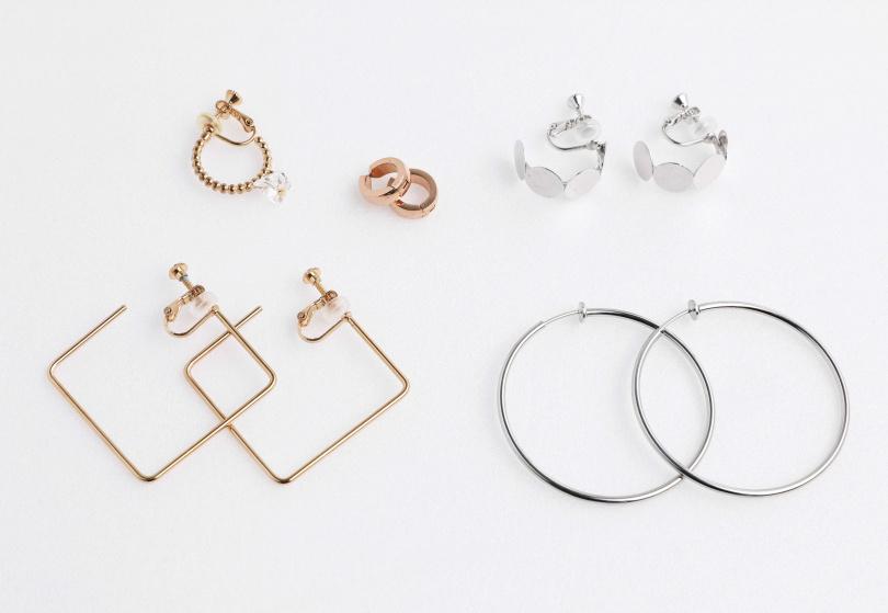 耳環/數百元不等。(圖/戴世平攝)