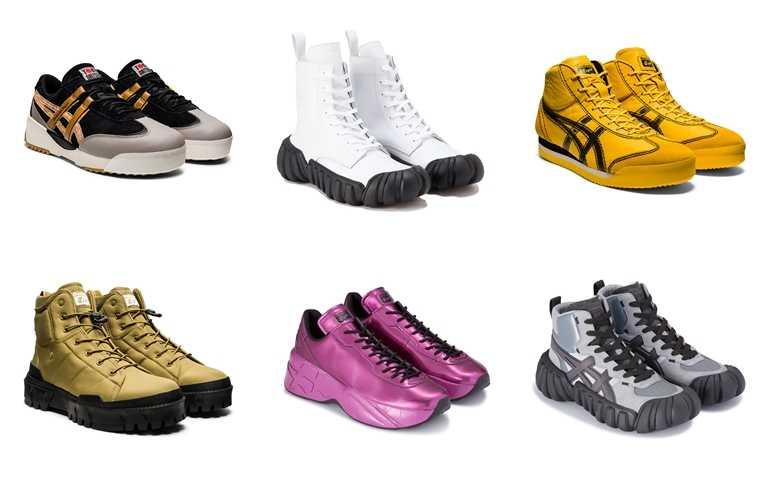 韓國男團A.C.E在新歌MV裡所搭配的造型鞋款。(圖/Onitsuka Tiger)