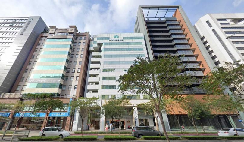 爆出爭議的天泰公司在太陽能光電界頗有名氣,辦公室設址在信義路上,其事業體有天泰能源、天泰管理顧問公司等。(圖/翻攝自GOOGLE MAP)