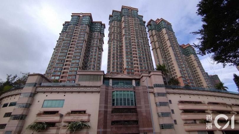 案發大廈。(圖/翻攝自香港01)
