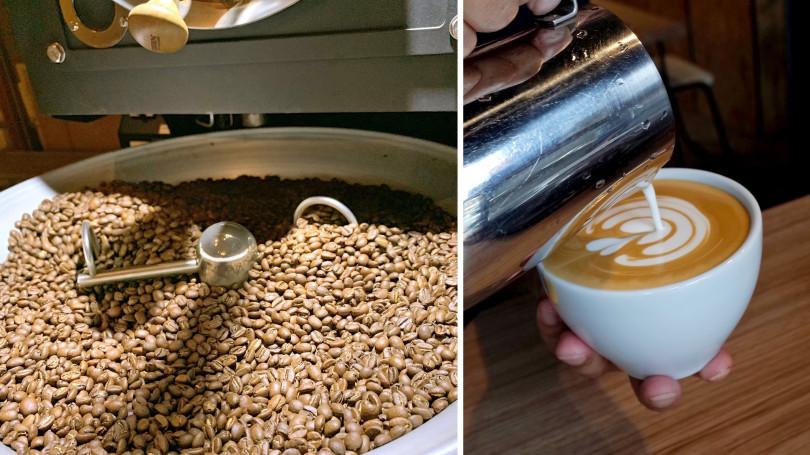 推薦淺焙手沖拿鐵、石花凍咖啡。(圖/「Ruth」提供)