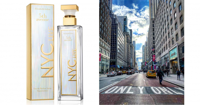 ELIZABETH ARDEN第五大道香水活力紐約限量版 125ml/2,500元(圖/品牌提供、翻攝自網路)