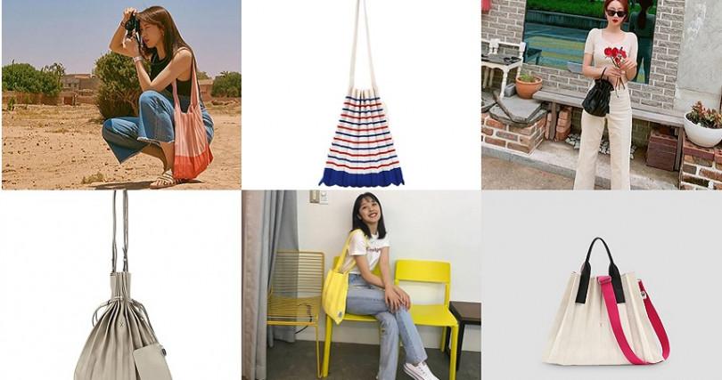 韓國女偶像HANI、徐玄、勁利、演員金寶拉、時尚達人金娜英等都喜歡復古又可愛的百褶包搭配私服!(圖/JOSEPH AND STACEY提供)