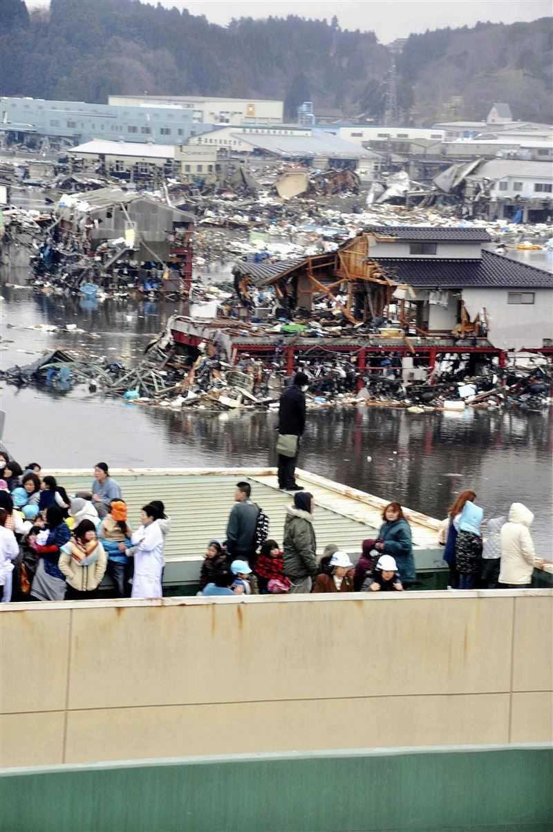 311大地震已經過了10年。(圖/達志/美聯社)