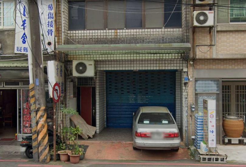 停車處就是林勤人診所舊址,現在招牌已被拆除。(圖/Google Map)