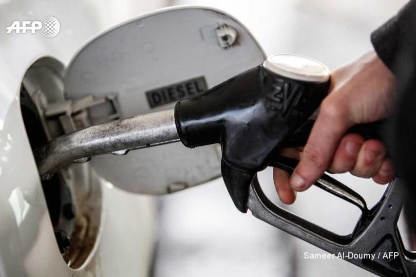 國際油價飆漲?中油啟動機制。(圖/AFP)