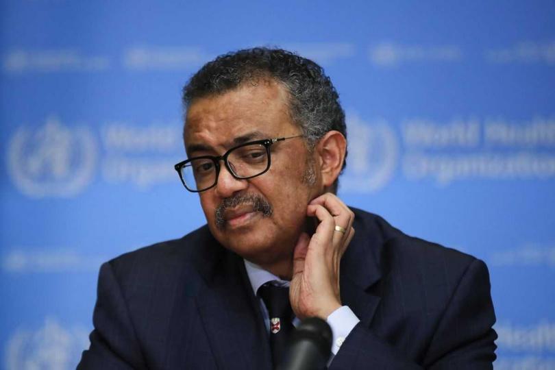 譚德塞涉嫌隱匿疫情稱得上是「累犯」,之前被爆隱匿衣索比亞3次霍亂疫情。(圖/Bloomberg)