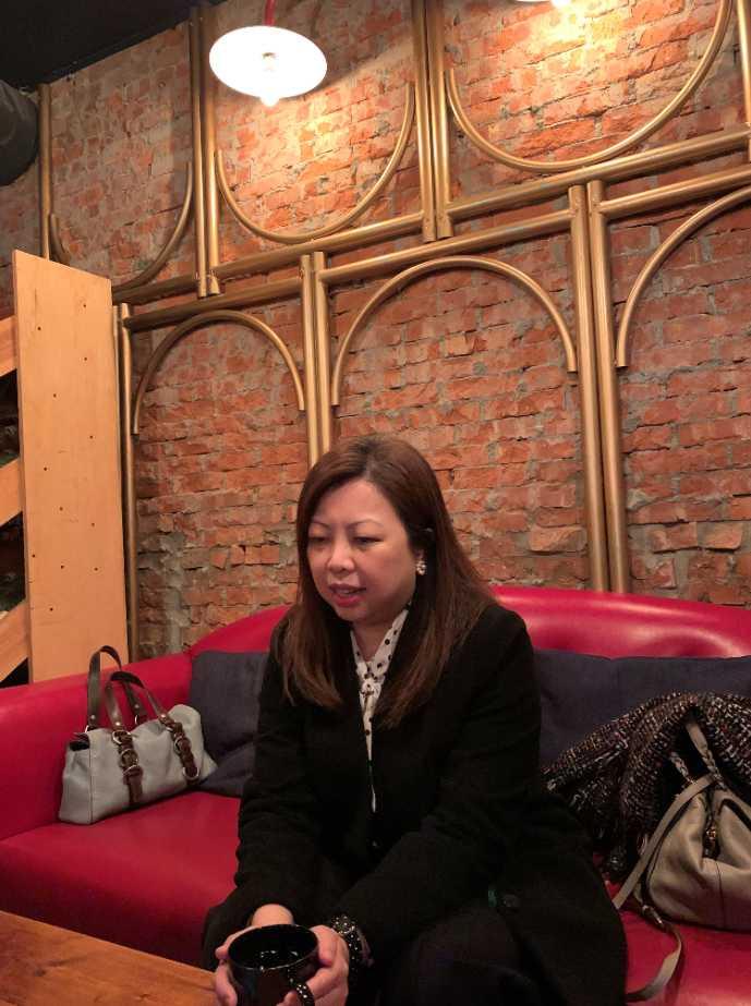 劉文硯強調陳文茜節目會延續主持風格、國際觀點。(圖/王奕棋攝影)