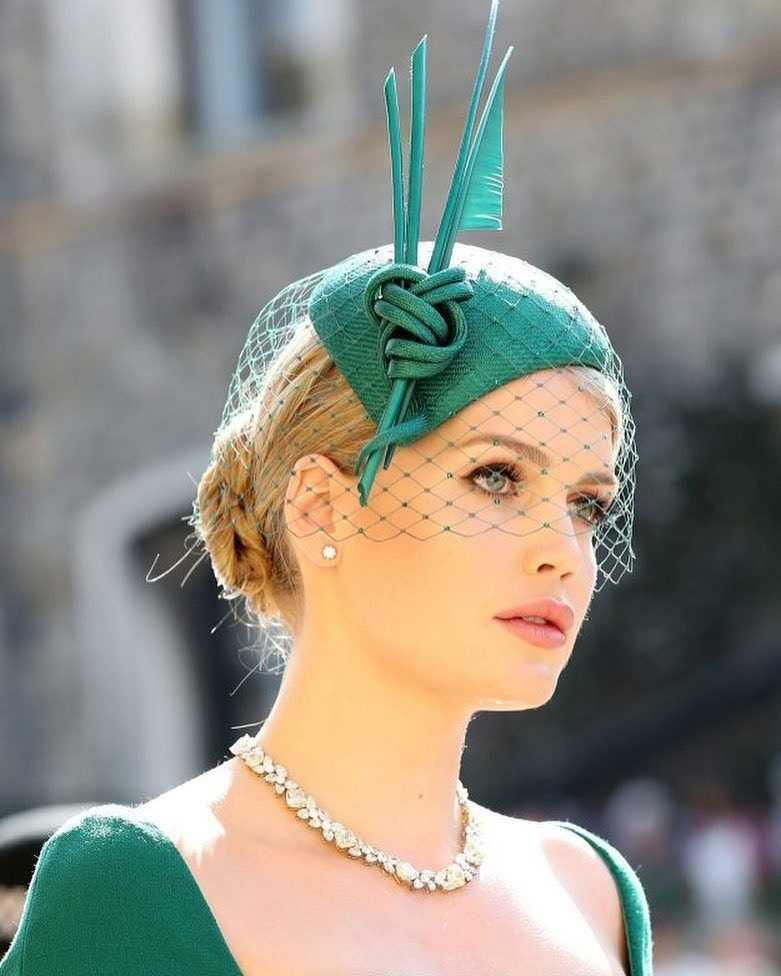 凱蒂2018年出席哈利王子婚禮時,驚人的美貌和出眾的舉止氣質,讓她一夕爆紅。(圖/ Kitty.Spencer IG)