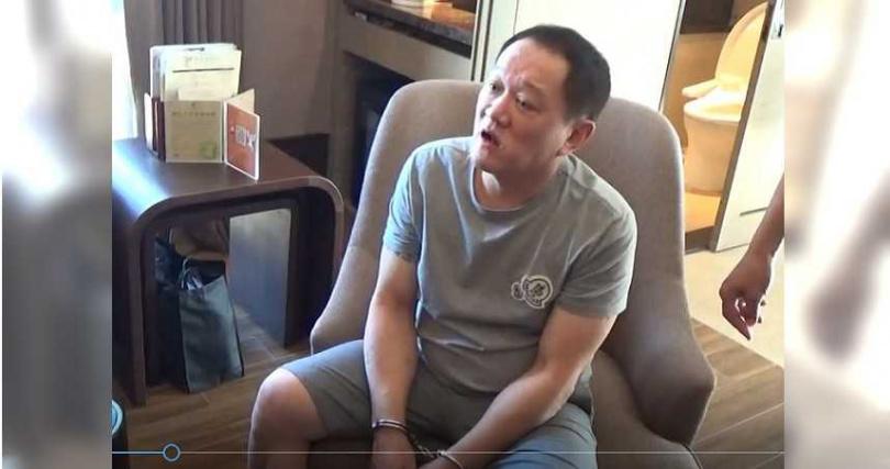 「台灣毒王」林孝道曾跟在黃大彰身邊學習3個月,這對昔日舊友如今同淪階下囚。(圖/警方提供)