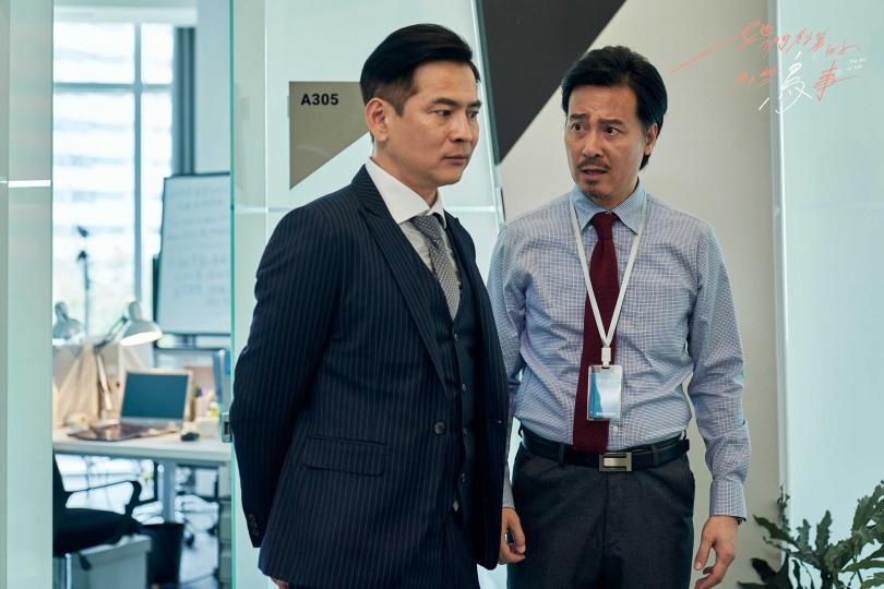 尹昭德(右)和馬國賢也有參與演出。(圖/可米傳媒提供)