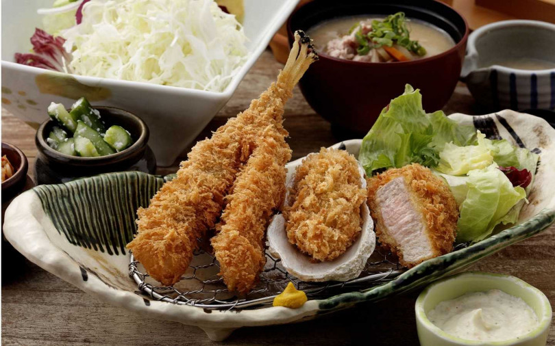鮟鱇魚三拼套餐。(圖/勝政提供)