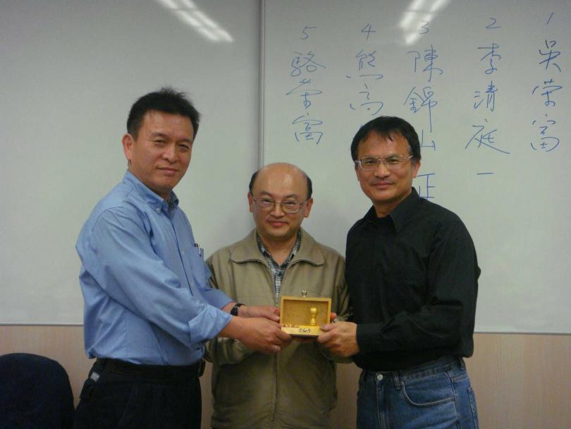 前友訊總經理林仕國(左1)。(圖/報系資料庫)