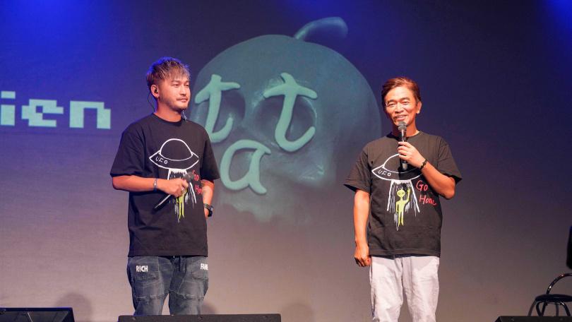 吳宗憲、KID擔任追思音樂會「地球上最浪漫的演唱會」主持。(圖/滾石提供)