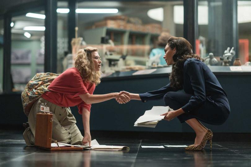 蓋兒加朵與「豹女」克莉絲汀薇格在續集中有精彩對手戲。