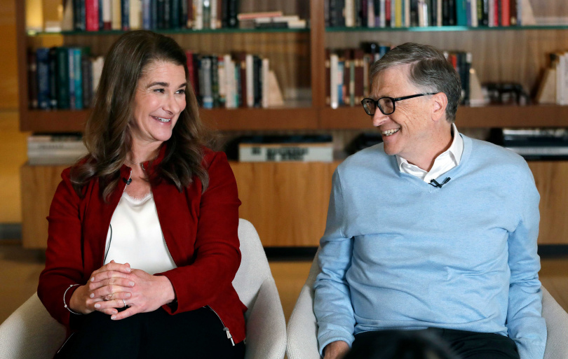 微軟共同創辦人比爾蓋茲和結縭27年的妻子梅琳達分道揚鑣,疑似是這原因。(圖/達志/美聯社)