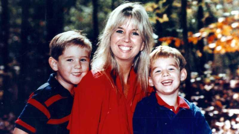 嬌妻被槍殺,2名幼子童年蒙上陰影。(圖/The Atlanta Journal-Constitution)