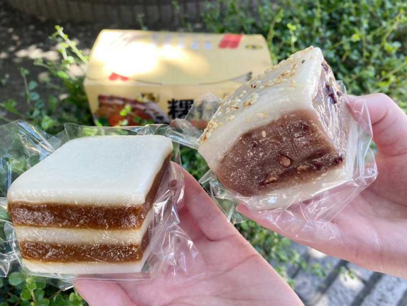 除了經典花生之外,還有芋粿、紅豆粿、雙糕潤、九層粿等鹹甜滋味都有。(圖/Global Mall)