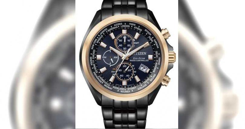 CITIZEN「光動能全球電波」腕錶,亞洲限定款(型號AT8206-81L)╱不鏽鋼錶殼,44mm,29,800元。(圖╱CITIZEN提供)