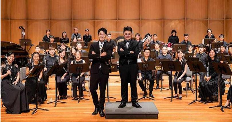 陳謙文參與狂美交響管樂團演出,獻出小號處女秀。(圖/星火映畫提供)