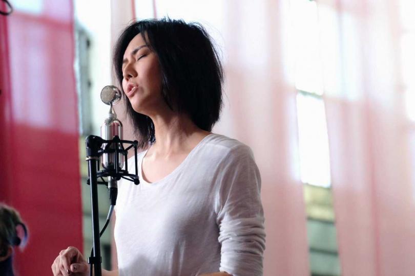 孫燕姿音樂會上也傳達許多正能量給歌迷。