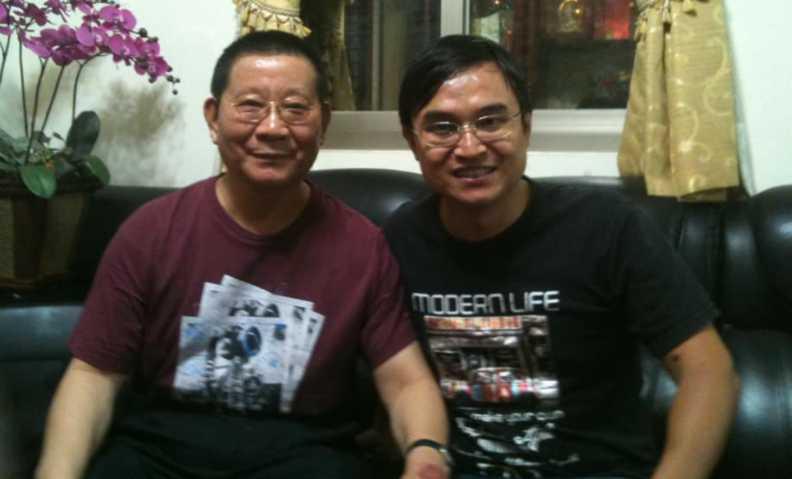 吳國禎醉心台語文且相當有造詣,還被大師吳樂天收為「唯一弟子」。(圖/翻攝臉書)