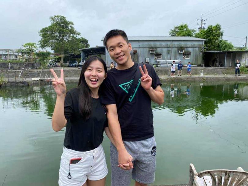 李洋與女友的合照。(圖/翻攝自李洋臉書)