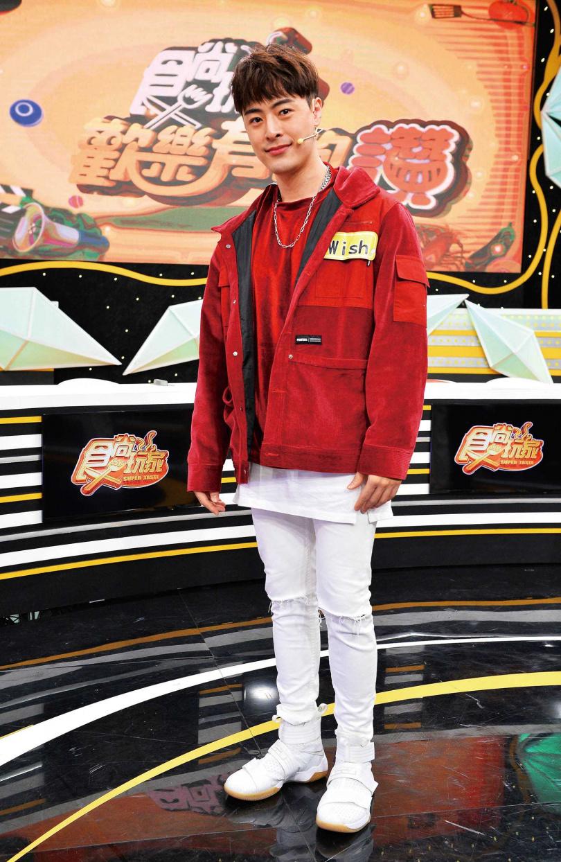 今年4月Wish復出演藝圈,近來常在綜藝和戲劇節目亮相。(圖/TVBS提供)