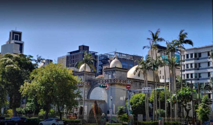 台北清真寺。(圖/Google Map)