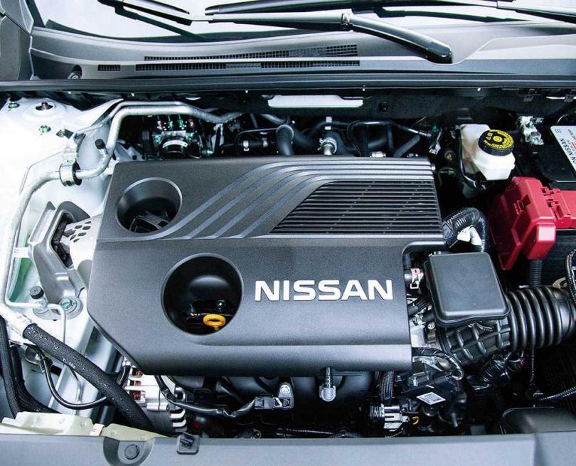 全新的1.6升自然進氣引擎,比舊的1.8升引擎還夠力。(圖/黃威彬攝)