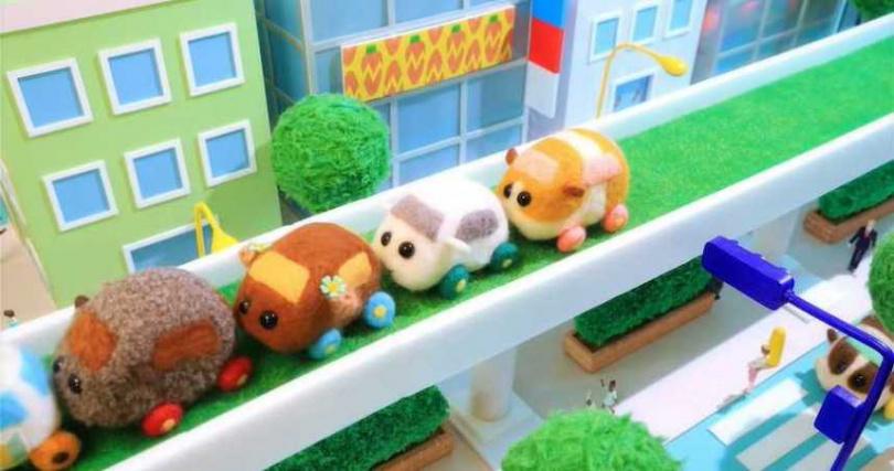 人氣動畫《天竺鼠車車》因為療癒的角色和簡短劇情迅速爆紅。(圖/翻攝自Muse木棉花YouTube頻道)