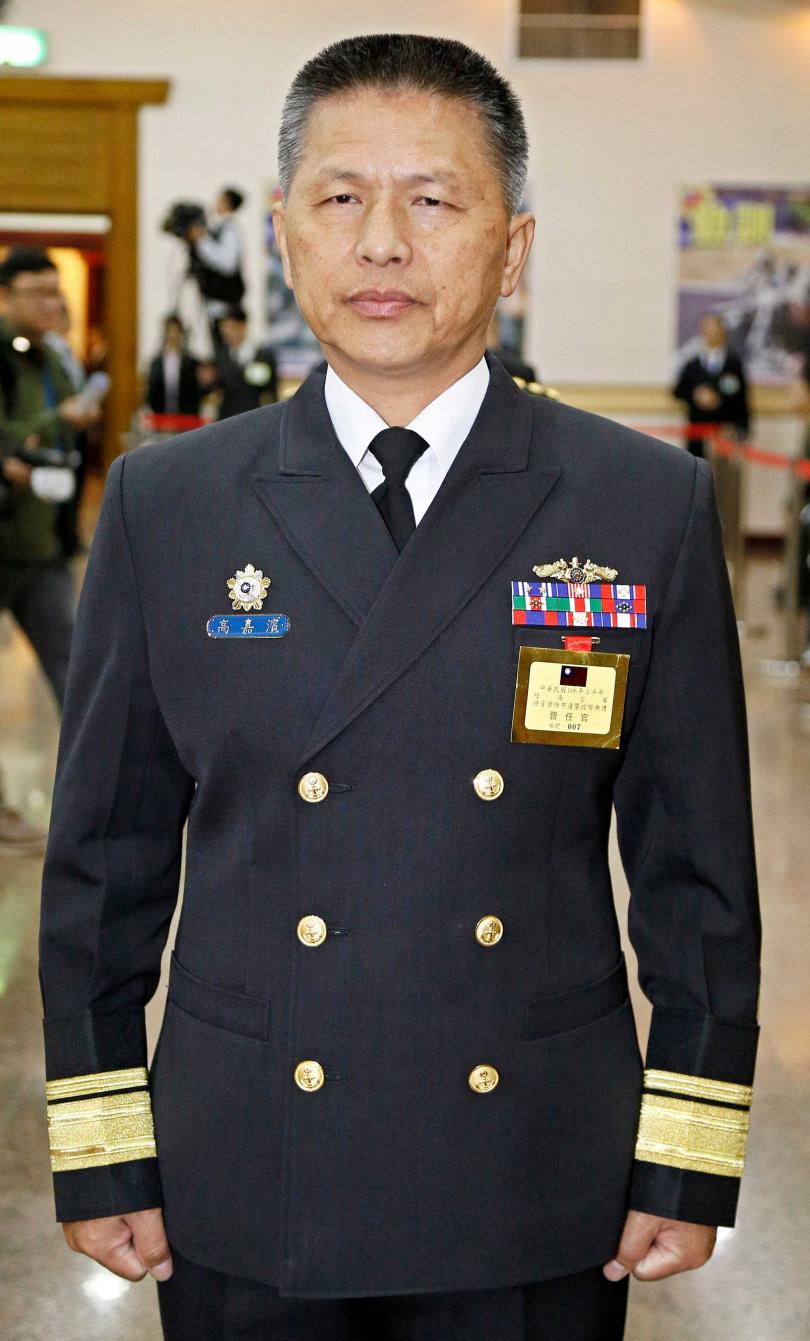 海軍艦指部指揮官中將高嘉濱。(圖/報系資料照)