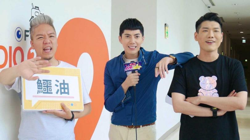 王燦參加《娛樂超skr》逗樂全場。  (圖/民視提供)