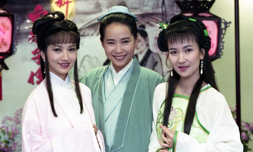 陳美琪因演出《新白娘子傳奇》走紅兩岸。(圖/報系資料照)