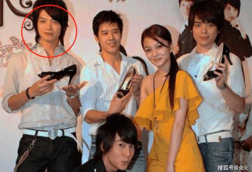 辰亦儒(紅圈處)還出演過《公主小妹》,與張韶涵、吳尊搭檔。