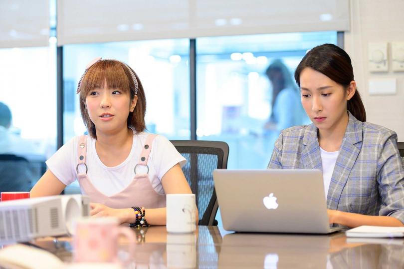 梁舒涵因演出小仙姑備受歡迎,在戲中與曾子余結婚後執意當職業婦女。(圖/TVBS提供)